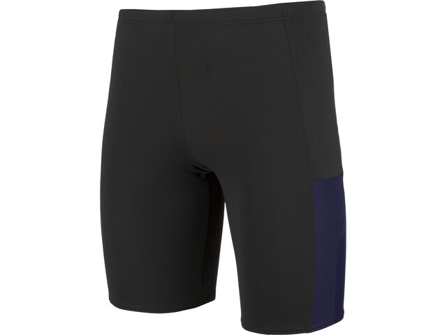 speedo Mesh Panel Jammer-uimahousut Miehet, black/blue